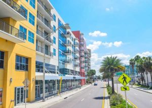 Channelside Neighorbood, Tampa Bay, Florida